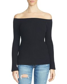 1.state Off-The-Shoulder Sweater