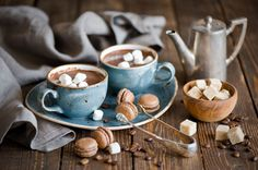 Of course hot chocolate is in there – and you can't beat our extremely special and luxurious blends!