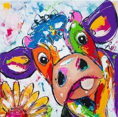 245 beste afbeeldingen vrolijke schilderijen koe cow