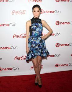 Rose Byrne in Preen by Thornton Bregazzi , at the CinemaCon Big Screen Achievement Awards, Las Vegas, 2015.  Photo: Getty.