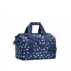 reisenthel allrounder M spots navy - Reisetasche Handtasche Schultertasche 18 l Größe M | Spots Navy