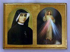 Sta Faustina ruega por nosotros devotos de Jesús de la Misericordia