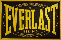 Everlast--I like boxing.  Used to watch boxing with my dad and then with my daughters.  Used to box too, but I didn't like getting hit in the face--which I think is a perfectly acceptable reason to stop boxing because I am a girl.  Screw total equality, damn.