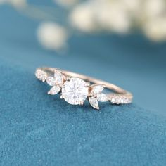 Yellow Engagement Rings, Vintage Engagement Rings, Vintage Rings, Marquise Cut Diamond, Diamond Cuts, Wedding Promises, Conflict Free Diamonds, Yellow Gold Rings, Moissanite