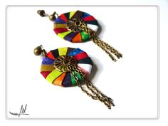 Dans ma tour d'ivoire, bijoux textiles par lydia nowik