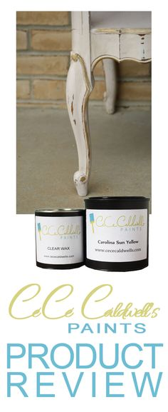 CeCe Caldwell Paint product Review - learn what the pluses and minuses are before you buy!  #paint #DIY