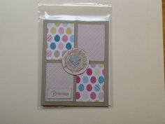 Birds of a Feather Paper, Take Care stamp set and card stock by StampinUp!