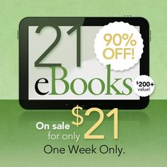 Pee a little when you laugh? Still struggling to quit sugar? Trouble figuring out healthy options to cook that your family will eat? This amazing deal on health and wellness ebooks ends today.... 90% off today only!