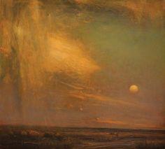 Gordon Brown, Sunset Colors, oil, 22 x 23.