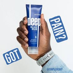 Deep Blue® Rub is a rich cream that provides a cooling yet warming sensation when applied to targeted areas. This is a great product to have on hand if you exercise, play sports, have a desk job, do heavy lifting, wake up feeling tight in the neck, etc. Go ahead...RUB it in!  #pain #inflammation #aches #arthritis #healing #naturalhealth #essentialoils