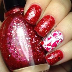 valentine by kpandaanails  #nail #nails #nailart
