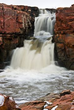 My hometown...Sioux Falls.  Love the rose quartz rock.