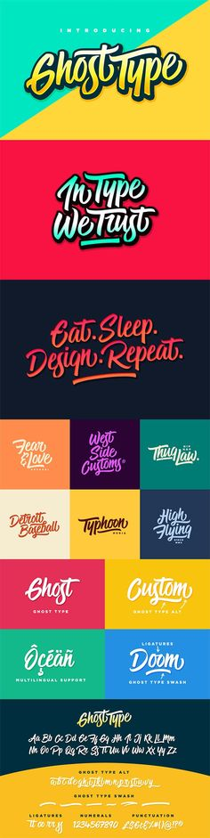 The Font Geek's Go-to Bundle Font Families, 200 Individual Fonts) - Design Cuts Hand Lettering Quotes, Types Of Lettering, Typography Letters, Brush Lettering, Lettering Design, Logo Design, Creative Typography, Graphic Design, Type Fonts