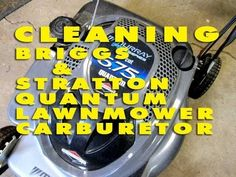 In this detailed video tutorial I show you how to remove and clean a carburetor from a Briggs & Stratton Quantum lawnmower engine. Street Outlaws Cars, Lawn Mower Repair, Tractor Mower, Lawn Equipment, Engine Repair, Small Engine, Farm Life, Tractors, Grass