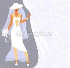 Vectores de stock de Bride hair design, ilustraciones de Bride hair ...
