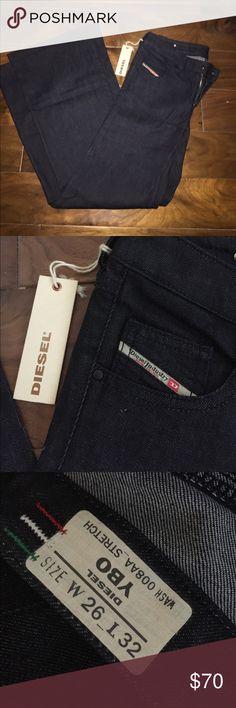 Diesel Jeans - W 26/L 32 NWT - Never Worn Diesel Pants Wide Leg