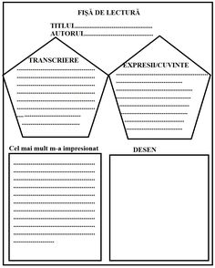 Lumea lui Scolarel...: Modele fișe de lectură Visual Perception Activities, Teacher Supplies, Teacher Worksheets, Kindergarten Activities, Coloring Pages, Homeschool, Teaching, Math, Cabana
