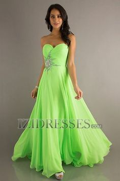 Sheath/Column Strapless Sweetheart Chiffon Prom Dress - IZIDRESSES.COM at IZIDRESSES.com