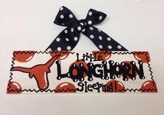 University of Texas Longhorn  little longhorn by TheCrazyPolkaDot