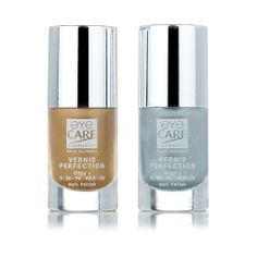 Vernis Perfection Oligo + par EYE CARE   #nailpolish #gold #silver