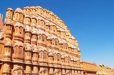 Hawa mahal(Places of wind):- Its located in Jaipur. Its a whimsical architecture that includes rich architecture and history of rajasthan. You can visit here through Bhati tours.