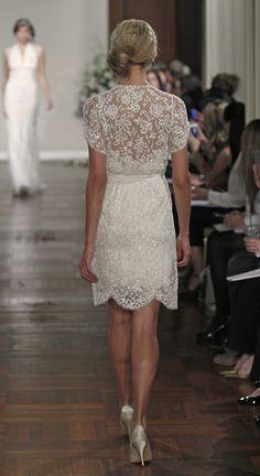 #JennyPackham Short #Wedding Dress - Buttercup