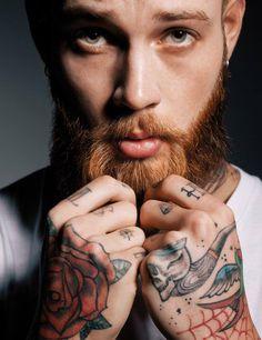 Tattoo Lust: Beards & Tattoos X | Fonda LaShay // Design → more on fondalashay.com/blog