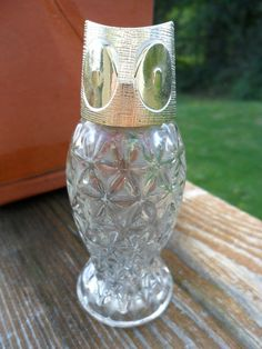 Vintage Avon Owl Bottle