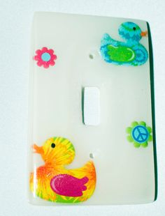 Ducky Outlet Cover by JewelReMotion on Etsy, $15.99