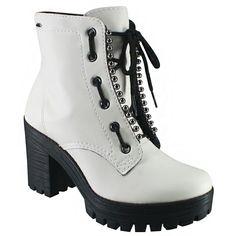1fae6c068 Bota Feminina Coturno Dakota G0122 0004 - Branco (Florencia) - Calçados  Online Sandálias, Sapatos e Botas Femininas   Katy.com.br