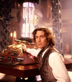 """The Eighth Doctor, aka Oscar Wilde. 