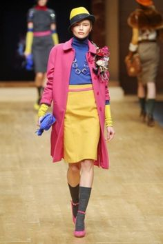 Runway Looks for Less: BLUGIRL Fall 2011 - College Fashion