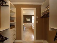 walk through closet | Joyful Walkthrough Closet | 447568 | Home Design Ideas