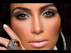 Trucco Occhi Marroni Make up Tutorial - Kim Kardashian