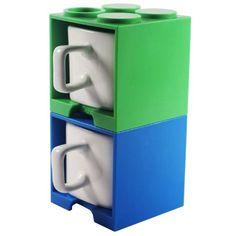 lego cube mugs