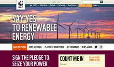 Sign the pledge: Say yes to renewable energy