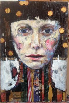 Buy Nora, Mixed Media painting by Juliette Belmonte on Artfinder. Discover thousands of other original paintings, prints, sculptures and photography from independent artists. Abstract Faces, Abstract Portrait, Portrait Art, Mixed Media Painting, Mixed Media Canvas, Mixed Media Art, Mixed Media Faces, Creation Art, Art Sculpture