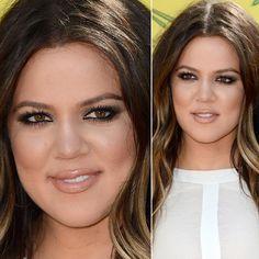 Khloe Kardashian ~ perfect natural looking make up !