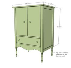 Ana White | Build a Ayla Cabinet | Free and Easy DIY Project and Furniture Plans