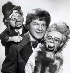 Weston, a popular Las Vegas entertainer, built the two ventriloquist dummies himself and would conduct clever debates between the two. Puppet Theatre, Theater, Ventriloquist Puppets, Old Toys, Comedians, Aunt, Las Vegas, Two By Two, Clever