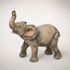 You'll love the Natural Looking Elephant Figurine at Wayfair - Great Deals on all Décor  products with Free Shipping on most stuff, even the big stuff.
