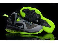 1c60f93decfac Nike Zoom LeBron 9 Women Basketball Shoes Gray Green Lebron 9 Shoes