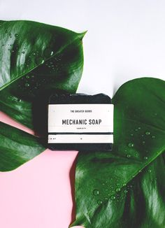 The Greater Goods // Mechanic Soap