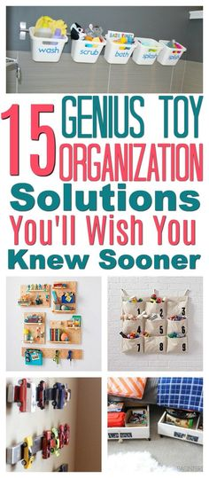 15 Genius Toy Organization Solutions You'll Wish You Knew Sooner - Make your home clutter free with these clever creative solutions every parent should know #home #kids #children #organization #declutter #toystorage #storage #storagesolutions #homedecor #homesweethome toy organization   toy organization ideas   toy organization for small spaces   toy organization living room   toy organization ideas small spaces   Toy Organization   Toy Organization / Play Room   Toy Organization Ideas  
