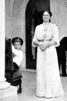 Tsarina Alexandra with her son Tsarevich Alexei Romanov. as Alexis was diagnosed as a haemophiliac and was not expected to live long. Both parents devoted much time to the boy and left the government of Russia to others. Alexandra was a very protective mother, but she was also determined to see that her son became tsar. Alexandra believed that she was more suited to do this than her husband: