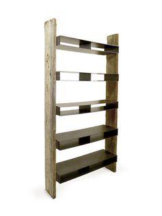 Ceniza Bookcase - 5 shelves by Espacio on Gilt Home