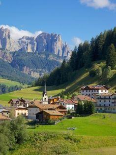 Moena, Fassa Valley, Trento Province, Trentino-Alto Adige/South Tyrol, Italian Dolomites, Italy