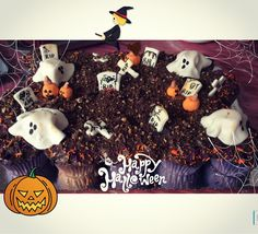 Pastel Cupcakes Halloween