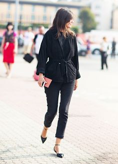 8 Items You'll Never Find in a Parisian's Closet   a Giveaway! via @WhoWhatWearUK
