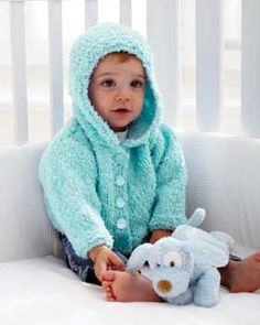 Soft Knitted Baby Hoodies